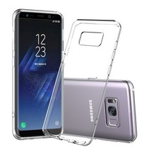 Samsung Galaxy S8+ Shock Absorption TPU Cover - Transparant