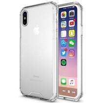 Hybrid Armor Case - iPhone X - Transparant