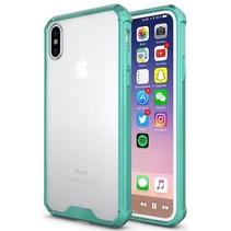 Hybrid Armor Case - iPhone X - Turquoise