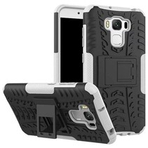 Asus Zenfone 3 Max 5.5 ZC553KL - Schokbestendige Back Cover Wit