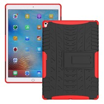 iPad 9.7 - Schokbestendige Back Cover - Rood