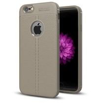 Litchi TPU Case - iPhone 6/6S - Grijs