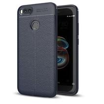 Litchi TPU Case - Xiaomi Mi A1 - Blauw