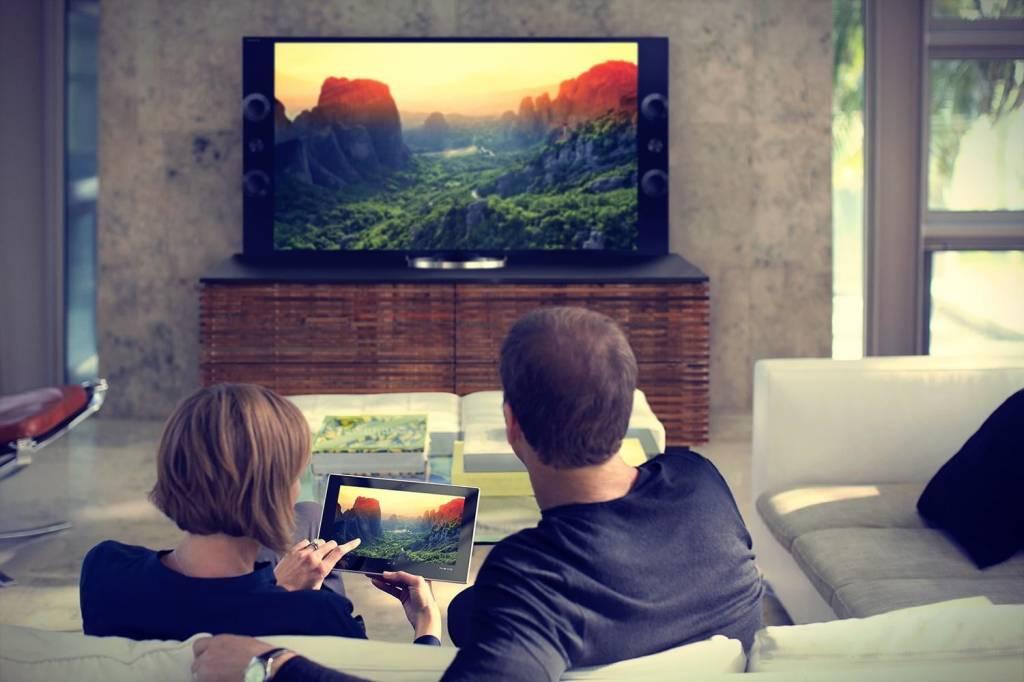 Samsung Galaxy tablet aansluiten op TV of beamer