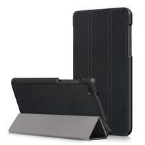 Lenovo Tab 4 7 Essential Hoes - Tri-Fold Book Case - Zwart