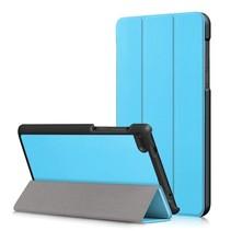 Lenovo Tab 4 7 Essential Hoes - Tri-Fold Book Case - Licht Blauw