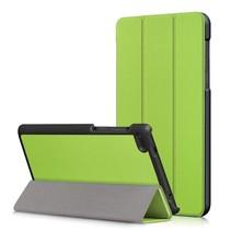 Lenovo Tab 4 7 Essential Hoes - Tri-Fold Book Case - Groen