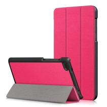 Lenovo Tab 4 7 Essential Hoes - Tri-Fold Book Case - Magenta