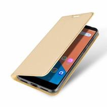 Asus Zenfone 5 Lite hoesje - Dux Ducis Skin Pro Book Case - Goud