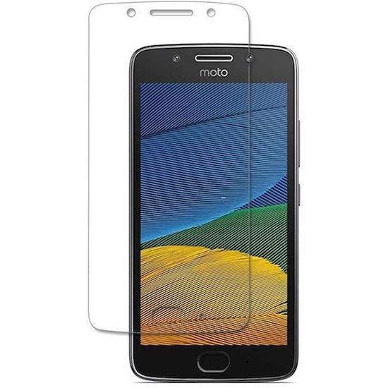 Case2go Motorola Moto G5 Tempered Glass Screenprotector