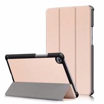 Huawei MediaPad M5 8.4 inch - Tri-fold Book Case - Goud