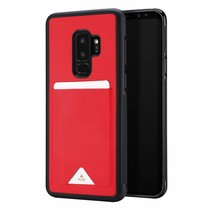 Dux Ducis - Samsung Galaxy S9 Plus hoesje - Pocard Series - Back Cover - Rood