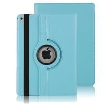 iPad Pro 10.5 2017 Draaibare Book Case Licht Blauw