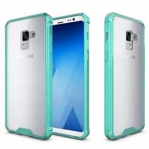 Hybrid Armor Case - Samsung Galaxy A8 (2018) - Groen