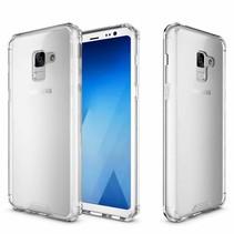 Hybrid Armor Case - Samsung Galaxy A8 (2018) - Transparant