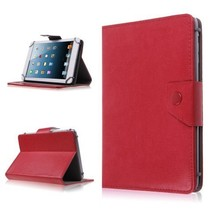 7 inch tablet cover rood - universeel