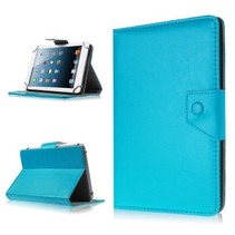 7 inch tablet cover licht blauw - universeel