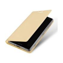 Sony Xperia XZ2 Premium hoesje - Dux Ducis Skin Pro Book Case - Goud