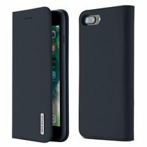 Wish Series Lederen Book Case - iPhone 7 Plus / iPhone 8 Plus- Blauw