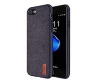 iPhone 7 / iPhone 8 - Shock Fabric Case - Zwart