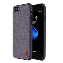 iPhone 7 / iPhone 8 - Shock Fabric Case - Grijs