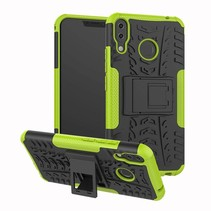 Schokbestendige Back Cover - Asus Zenfone 5Z - Groen