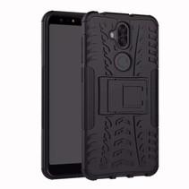 Schokbestendige Back Cover - Asus Zenfone 5 Lite - Zwart