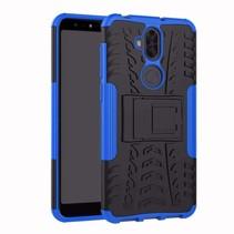 Schokbestendige Back Cover - Asus Zenfone 5 Lite - Blauw