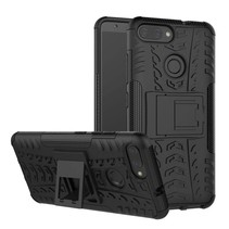 Schokbestendige Back Cover - Asus Zenfone Max Plus M1 (ZB570TL) - Zwart