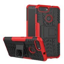 Schokbestendige Back Cover - Asus Zenfone Max Plus M1 (ZB570TL) - Rood