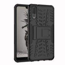 Schokbestendige Back Cover - Huawei P20 Lite - Zwart