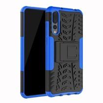 Schokbestendige Back Cover - Huawei P20 Pro - Blauw