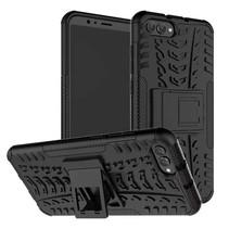 Schokbestendige Back Cover - Huawei Y5 Prime (2018) - Zwart