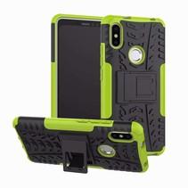 Schokbestendige Back Cover - Xiaomi Redmi S2 - Groen