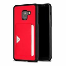 Dux Ducis Pocard - Samsung Galaxy A8 Plus (2018) - Rood