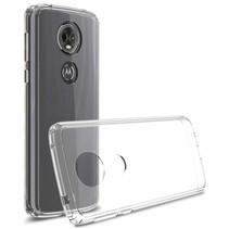 Hybrid Armor Case - Motorola Moto E5- Transparant