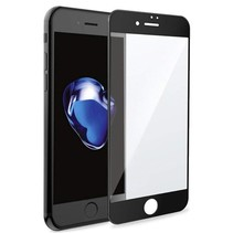 iPhone 7 Plus - Full Cover Screenprotector - Gehard Glas - Zwart
