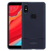 Xiaomi Redmi S2 - Litchi Pattern TPU Case - Blauw