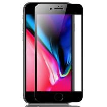 iPhone 6 Plus - Full Cover Screenprotector - Gehard Glas - Zwart