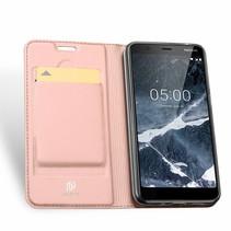 Nokia 5.1 hoesje - Dux Ducis Skin Pro Book Case - Roze