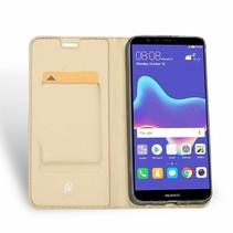 Huawei Y9 (2018) hoesje - Dux Ducis Skin Pro Book Case - Goud