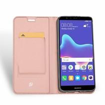 Huawei Y9 (2018) hoesje - Dux Ducis Skin Pro Book Case - Roze