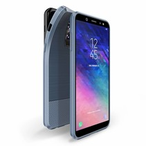 Dux Ducis - Samsung Galaxy A6 Plus 2018 hoesje - TPU Back Cover - Mojo Series - Blauw