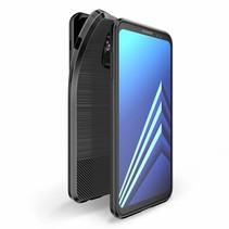 Dux Ducis - Samsung Galaxy A8 2018 hoesje - TPU Back Cover - Mojo Series - Zwart