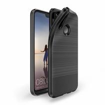 Dux Ducis - Huawei P20 Lite hoesje - TPU Back Cover - Mojo Series - Zwart