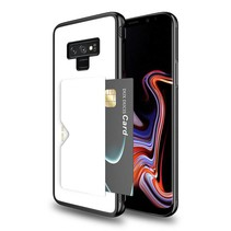 Dux Ducis - Samsung Galaxy Note 9 hoesje - Pocard Series - Back Cover - Wit