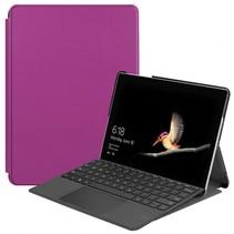 Microsoft Surface Go Tri-Fold Book Case Paars