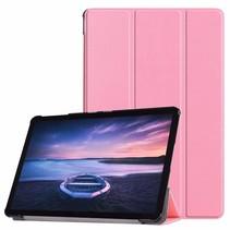 Samsung Galaxy Tab S4 Tri-Fold Book Case Roze