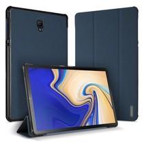 Samsung Galaxy Tab S4 10.5 hoes - Dux Ducis Domo Book Case - Blauw