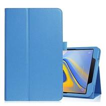 Samsung Galaxy Tab A 10.5 flip hoes - Licht Blauw